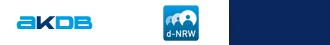 Logo AKDB und d-NRW